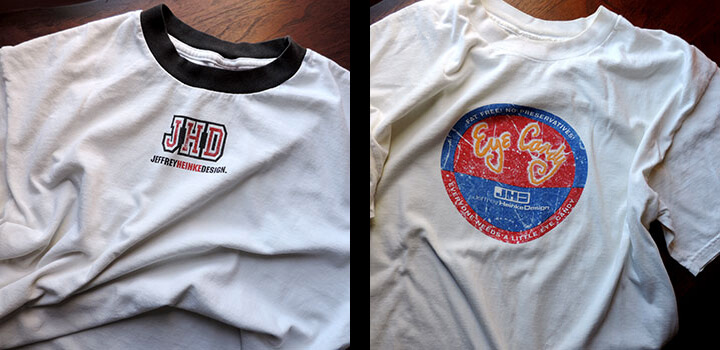 JHD Tee 1999 and 2000