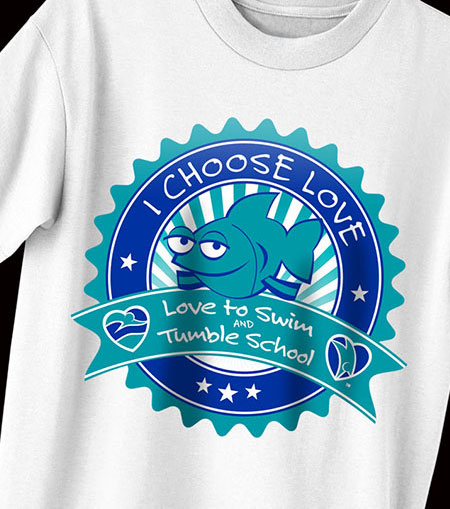 Love to Swim T Shirt
