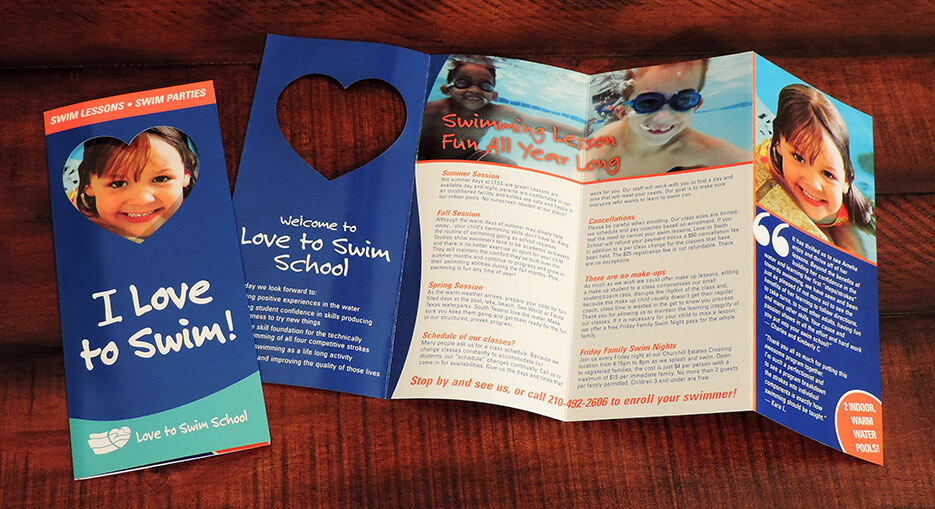 Love to Swim and Tumble School Brochure