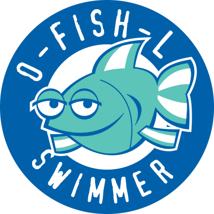 O-Fish-L Swimmer logo