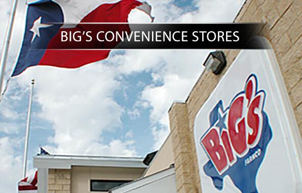 Big's Convenience Stores portfolio logo
