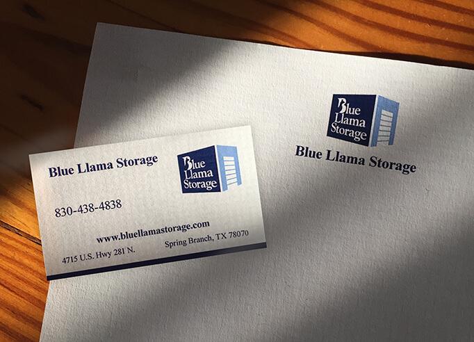 Blue Llama Stationery