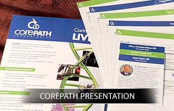 CorePath Presentation portfolio logo