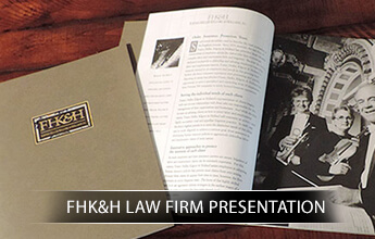 FHK&H Law Firm Presentation portfolio logo