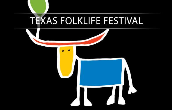 Texas Folklife Festival portfolio logo