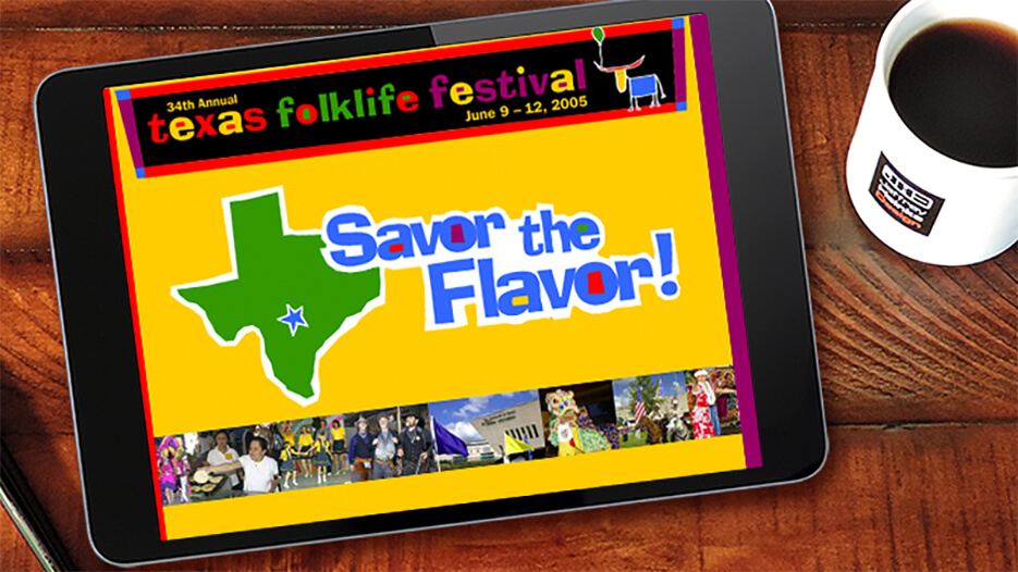 Texas Folklife Festival | Website Design