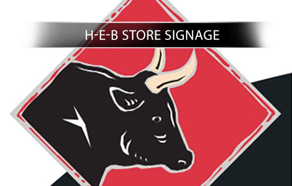 HEB Store Signage portfolio logo