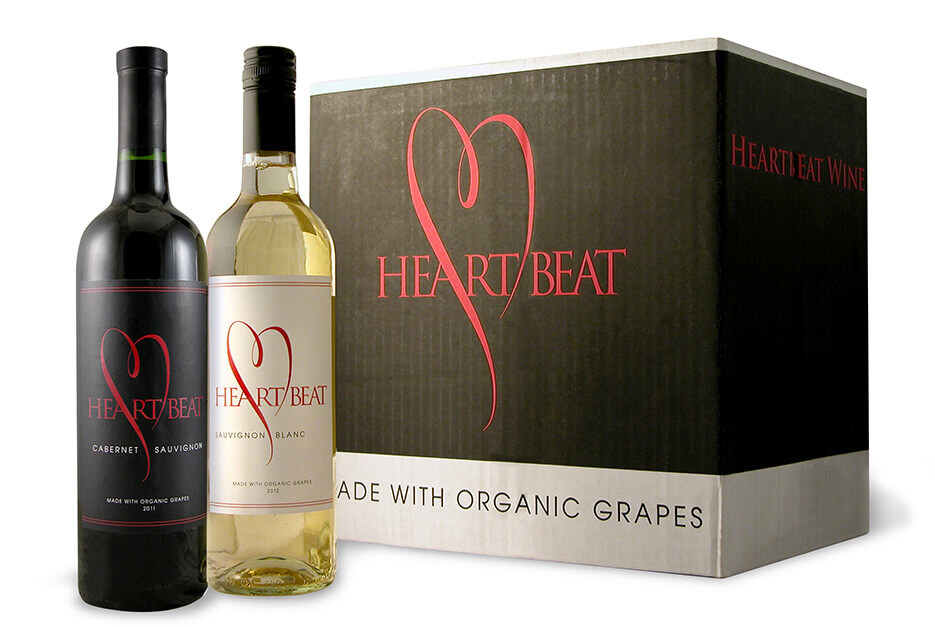 HeartBeat Wines with box