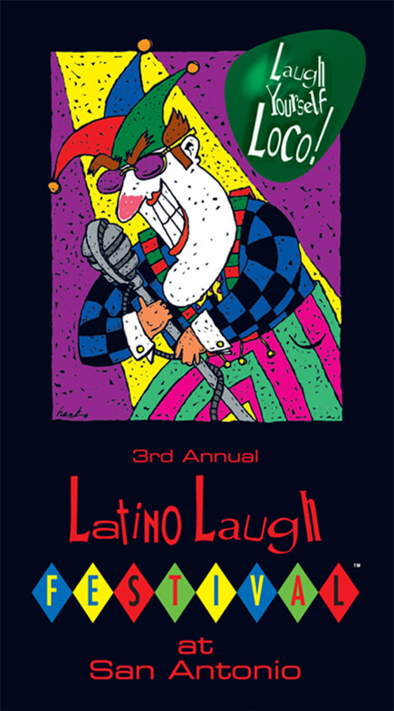 Latino Laugh Festival poster 1998