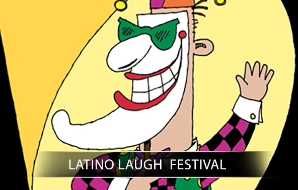 Latino Laugh Festival portfolio logo