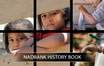 NADBANK History Book portfolio logo