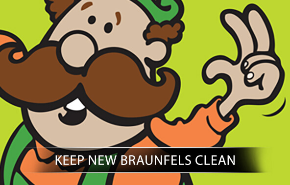 Keep New Braunfels Clean portfolio logo