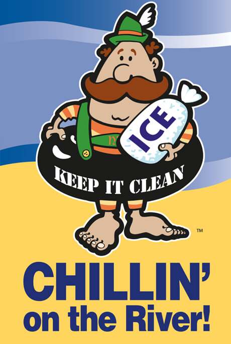 Keep New Braunfels Clean by Chillin' on the River