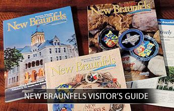 New Braunfels Visitor's Guide portfolio logo