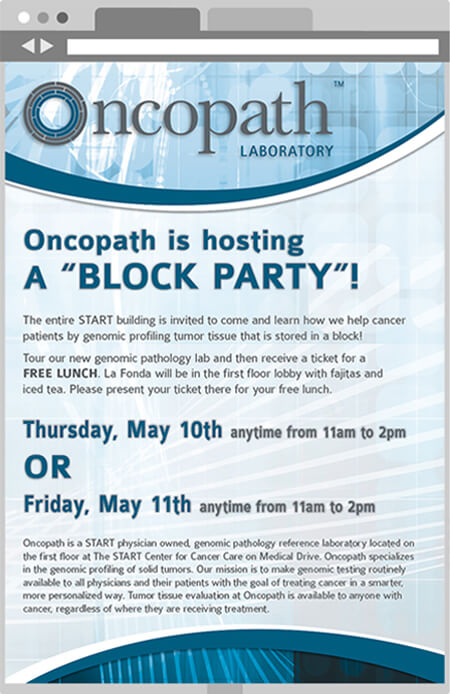 Oncopath email