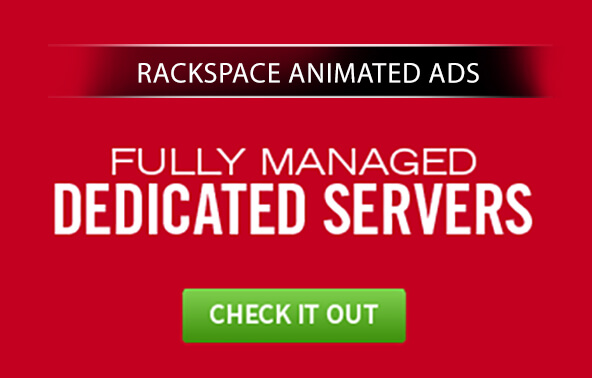 Rackspace Animated Ads