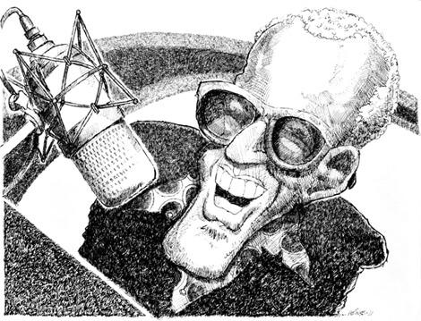 Ray Charles Illustration