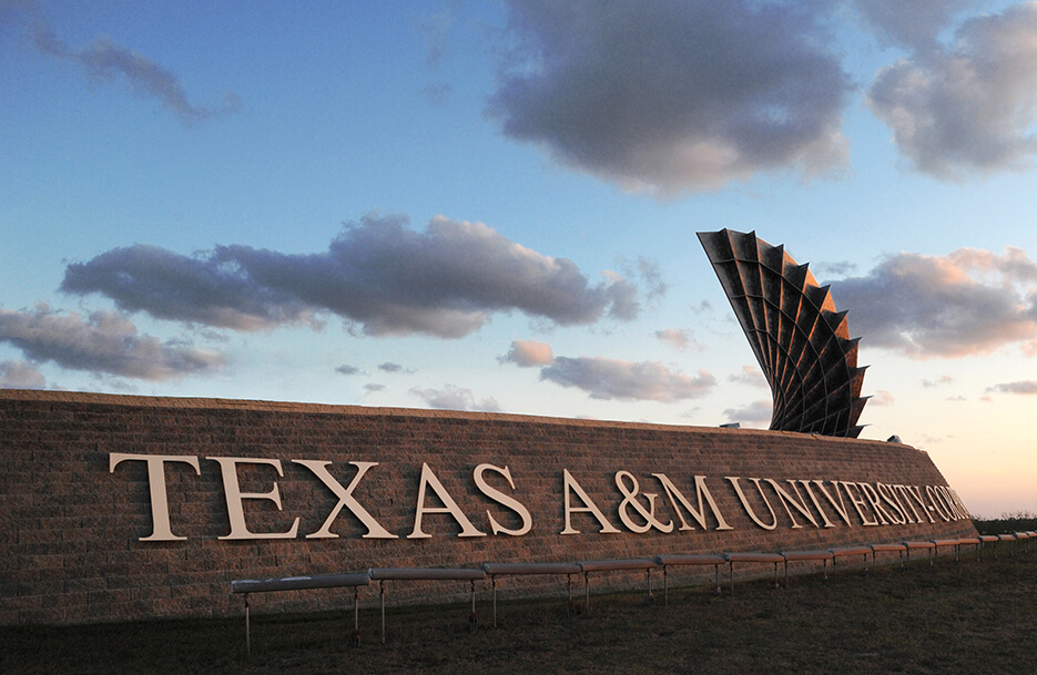 Texas A&M Corpus Christi University sculpture