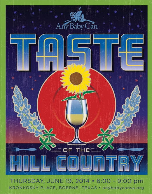 Taste of the Hill Country Poster