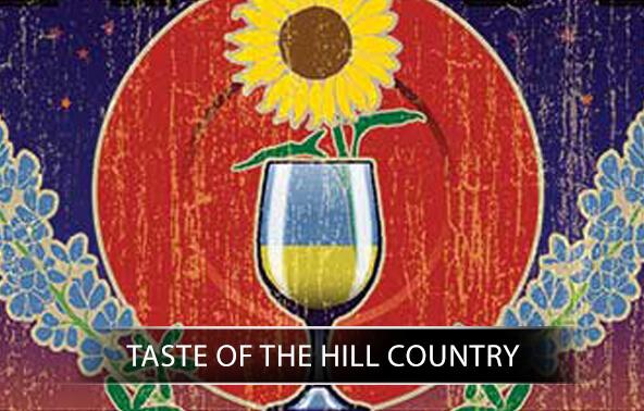 Taste of the Hill Country portfolio logo