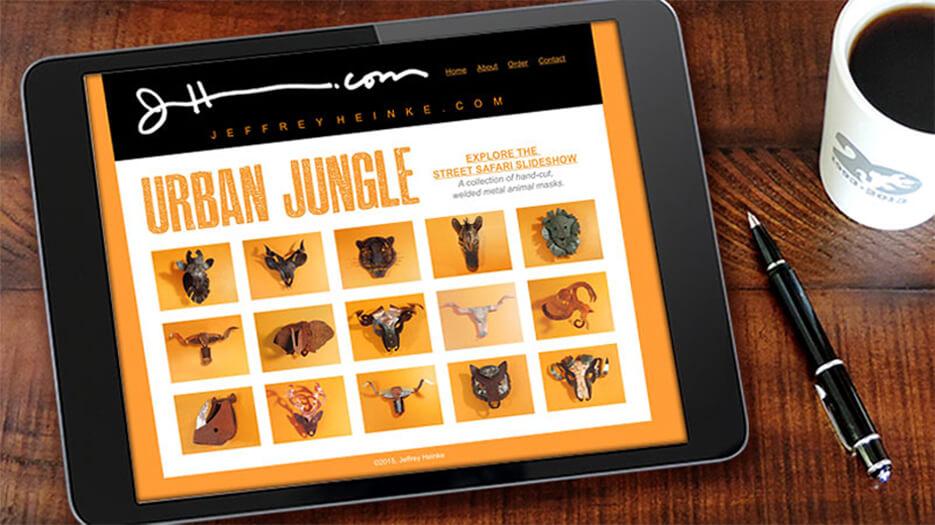 Urban Jungle | Website Design