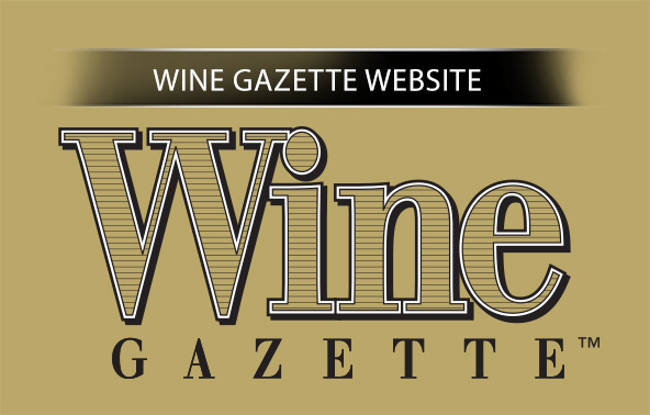Wine Gazette Website portfolio logo