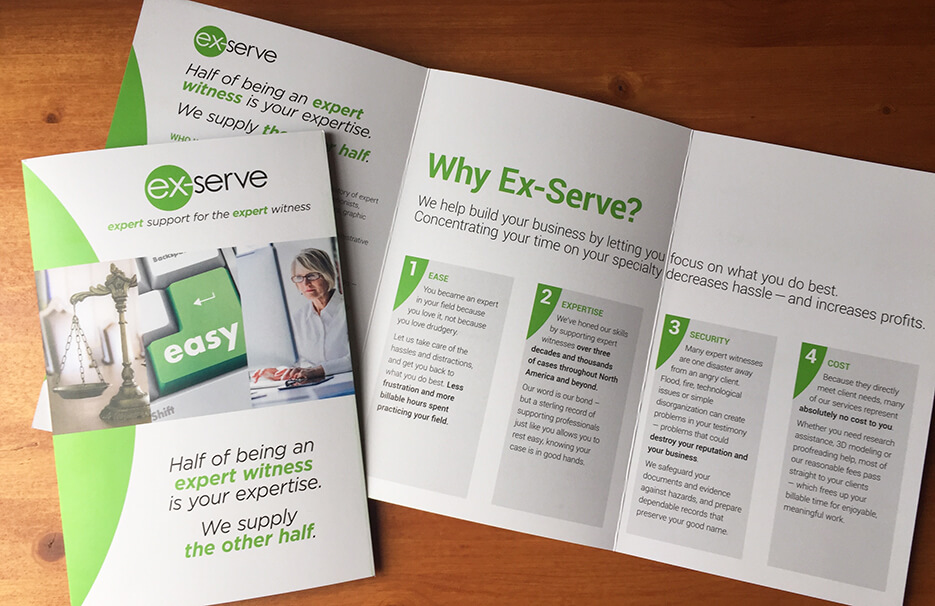 Ex-Serve brochure