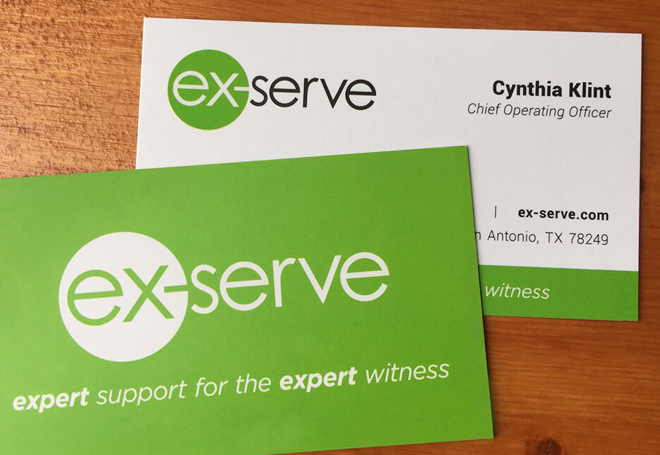 Ex-Serve business card