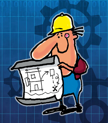 Construction character