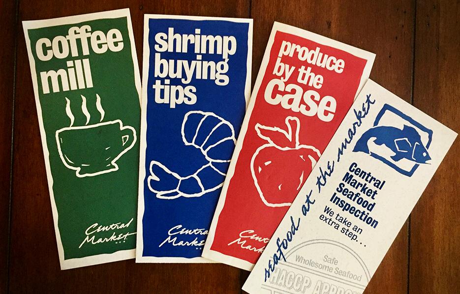 Central Market brochures