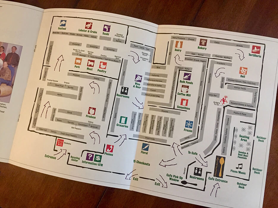 Central Market Newsletter map