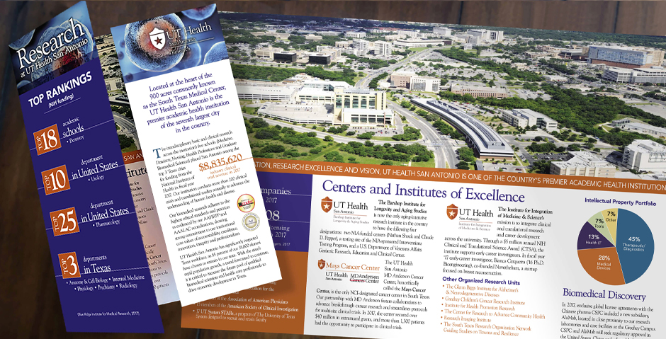 UT Health San Antonio capabilities brochure
