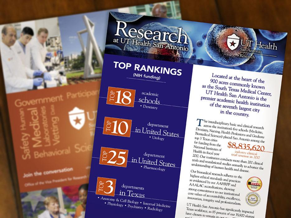UT Health San Antonio capabilities brochure