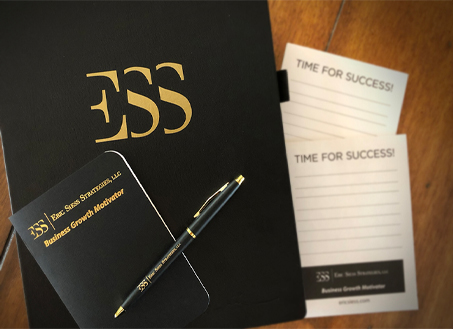 ESS book and pen