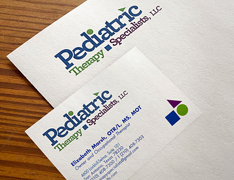 PedPediatric Therapy Specialist stationery